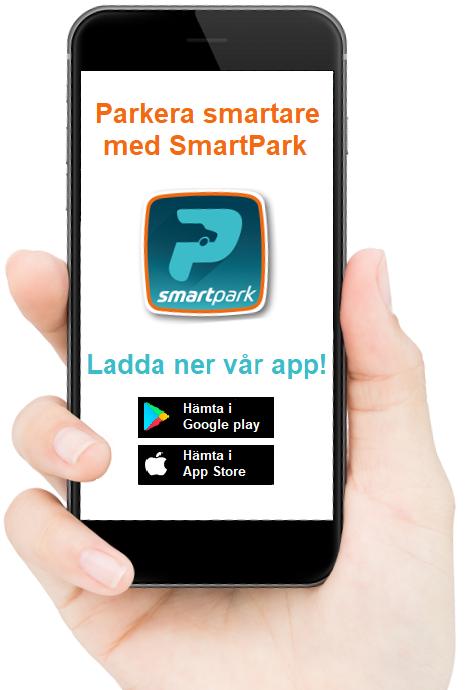 Parkera Smartare med appen SmartPark